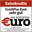 Creditplus €uro - sehr gut