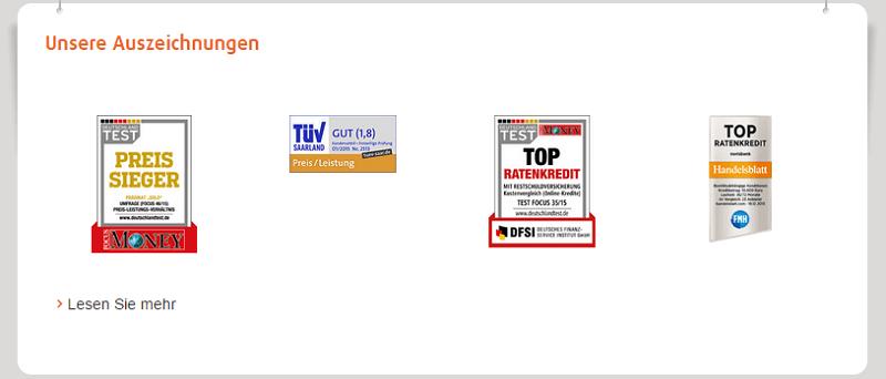 Beurteilungen - norisbank Top Kredit